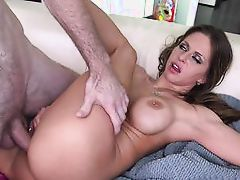forced with spunk after a hard fuck