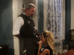 Jessica drake tries her hardest to
